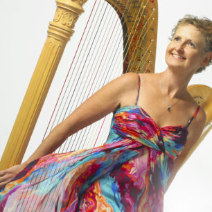 Gianetta Baril - Harpist